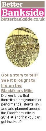 better bankside Blackfriars Stories press