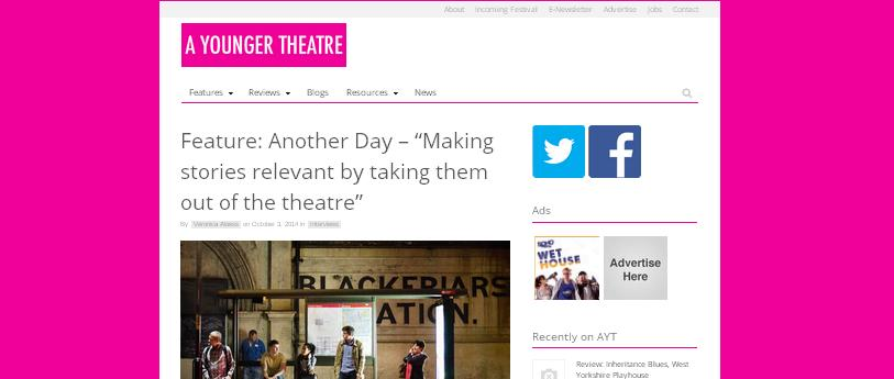 A Younger Theatre Another Day press