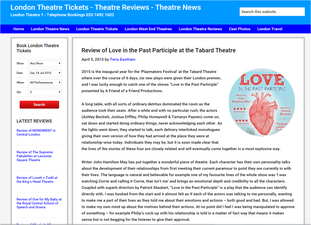 REVIEW LIPP LondonTheatre1