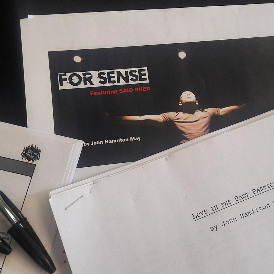 FOR SENSE BLOG news audition scripts Said Shed LIPP John Hamilton May JHM